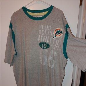 Miami dolphins men's tee shirt